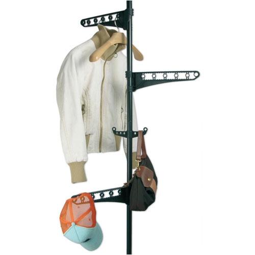 Vešiak na šaty – teleskopická tyč