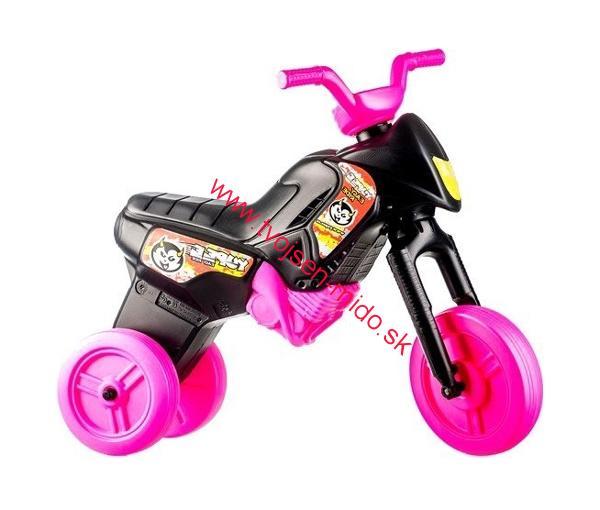 c8ca1dcff9c9 Teddies Odrážadlo motorka YUPEE ENDURO ružové