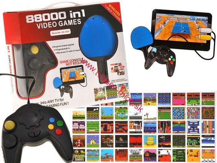 1036611856975 JOKO Elektronická hra, konzola na Televízor USB | Tvojsen-mido.sk ...