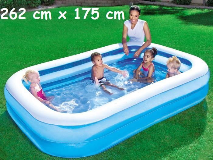 Bestway 54006 Nafukovací Bazén Pre Deti 262 Cm X 175 Cm