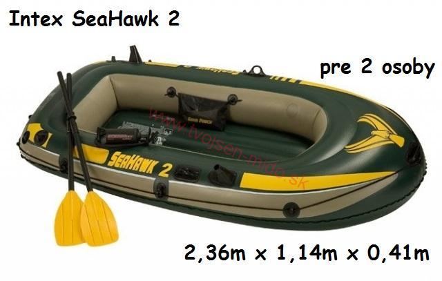 лодка intex seahawk 200 set купить
