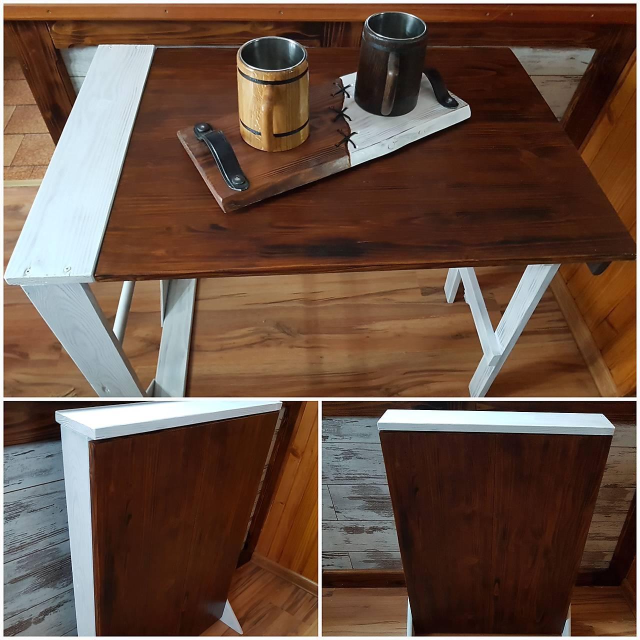 64c8fd420 Drevený stolík, skladací, masív | Tvojsen-mido.sk | Hračky - Náradie ...