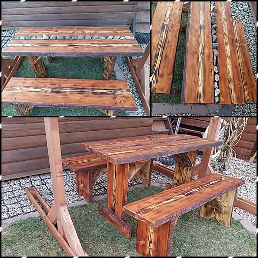 520f689bae2e Záhradný drevený set