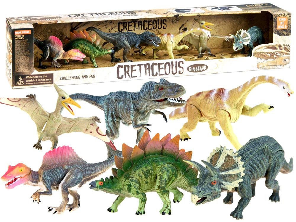 038816c129 JOKO Sada dinosaurov maľovaných 6 kusov s pohyblivými končatinami ...