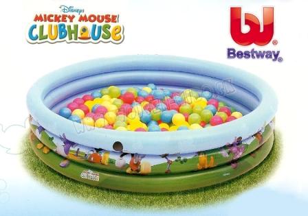 Bestway, Detský bazén s loptičkami Disney