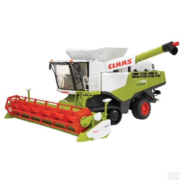 Kombajn Claas Lexion 780, model 1:16