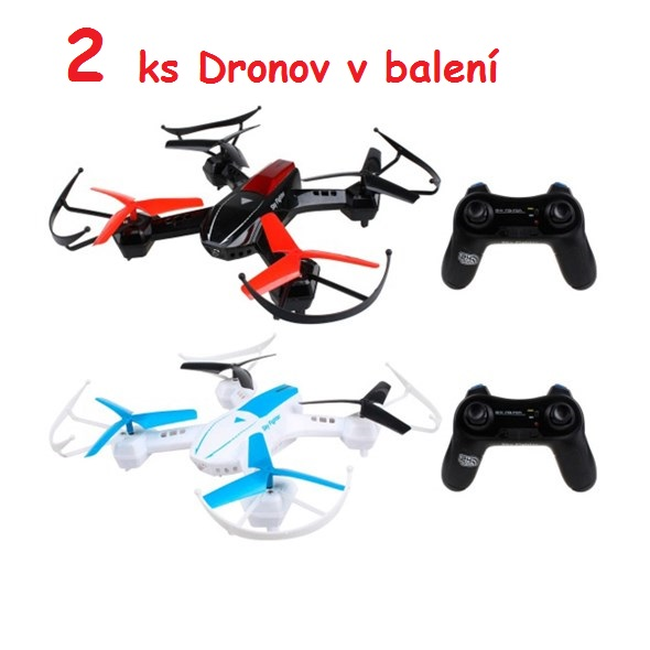 FLEG RC model DRON 2ks   bojový set