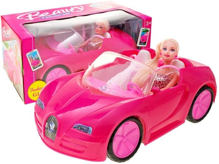 JOKO Barbie Kabriolet s bábikou s blond vlasmi 1723c07afc8