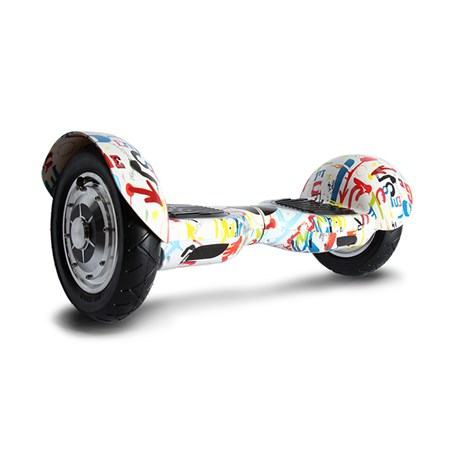 "Segway mini WHEEL-E  Hoverboard 10"" graffiti"