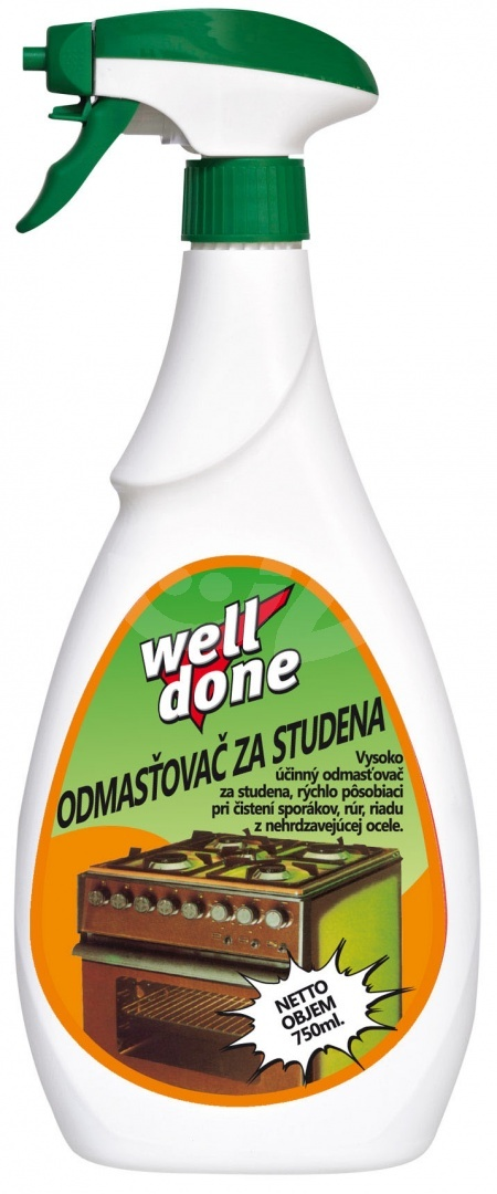 Well done Odmasťovač za studena 750ml