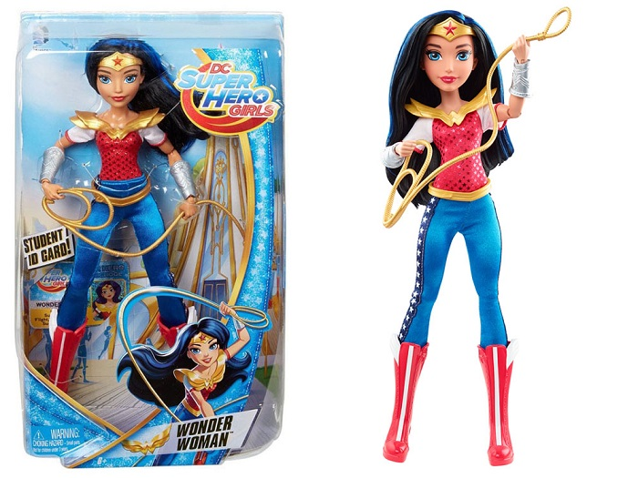 Mattel Super Hero Girls Bábika Wonder Woman