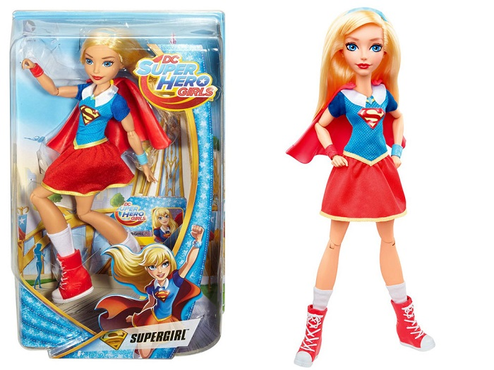 Mattel Super Hero Girls Bábika SuperGirl