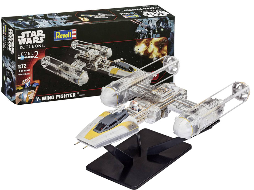 Revell Model Star Wars Y-Wing Fighter 1:72 na skladanie