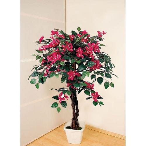 Декоративные деревья из искусственных цветов своими руками