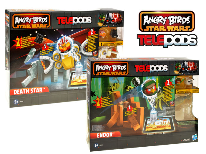 Hasbro Angry Birds Star Wars Telepods