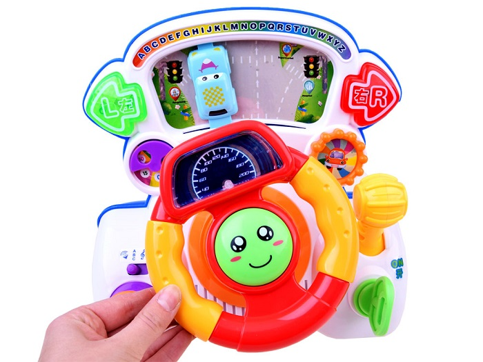 07e457dbc JOKO Interaktívny volant pre deti so zvukom a svetlom + vibrácie ...
