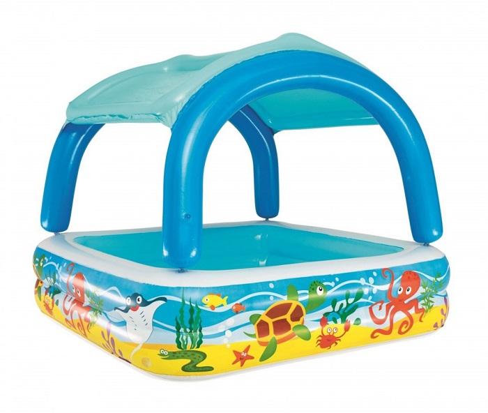 b78ef9b5b0723 Bestway Nafukovací bazén so strieškou 147cm | Tvojsen-mido.sk ...