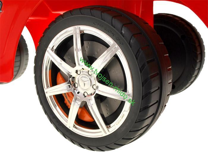 8d4229b8a JOKO Odrážadlo Mercedes SLS AMG so zvukmi, červené | Tvojsen-mido.sk ...