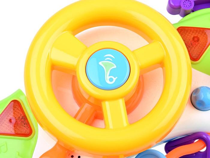 88779eda6 JOKO Detský interaktívny volant + kľúče so zvukom a svetlom ...