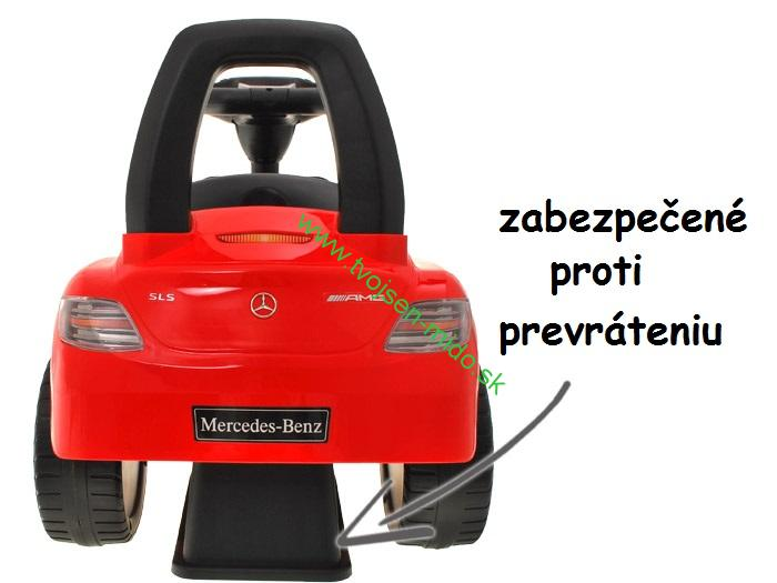 c0a86af2a JOKO Odrážadlo Mercedes SLS AMG so zvukmi, biele | Tvojsen-mido.sk ...