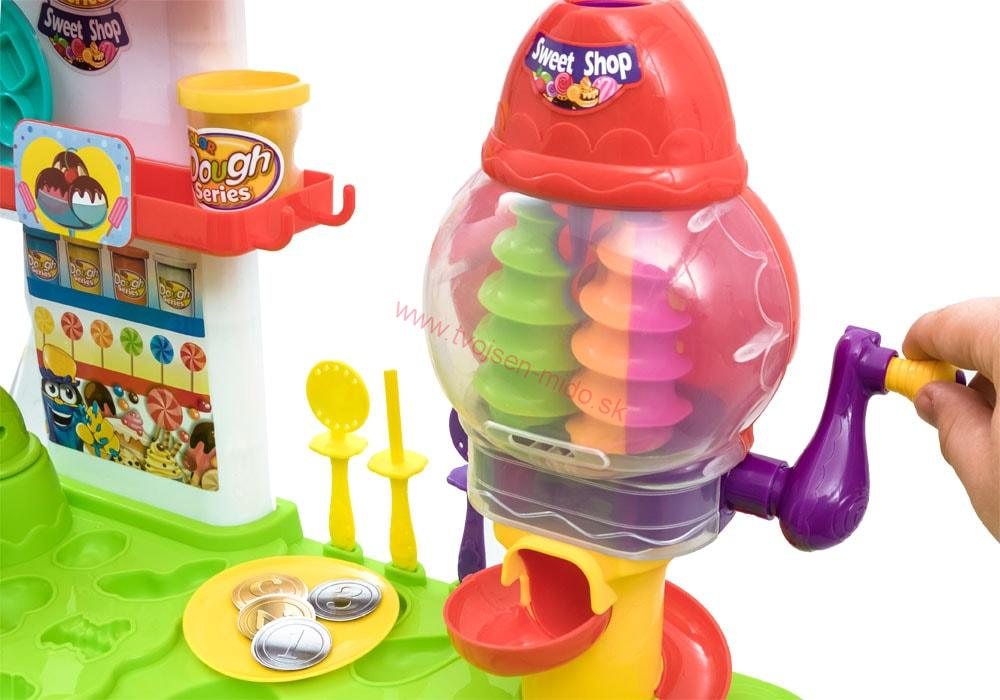 JOKO Súprava kreatívny stolík s plastelínou - Obchod na koláče ... ca694019731