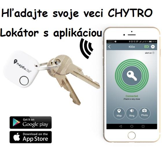 Bluetooth hľadač kľúčov, lokátor